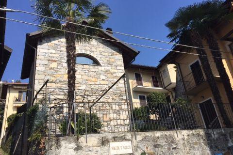Oggebbio Rustico mit Garten und Seeblick in Zentrum Dorf