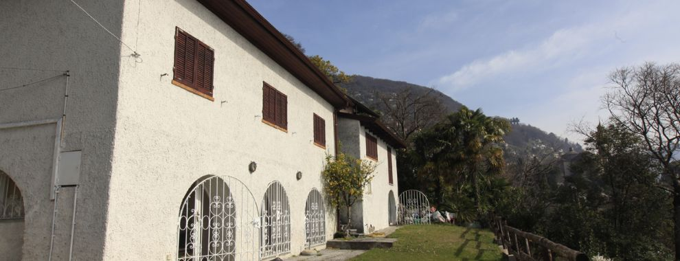 Cannero Riviera villa direkt am See mit panorama Blick