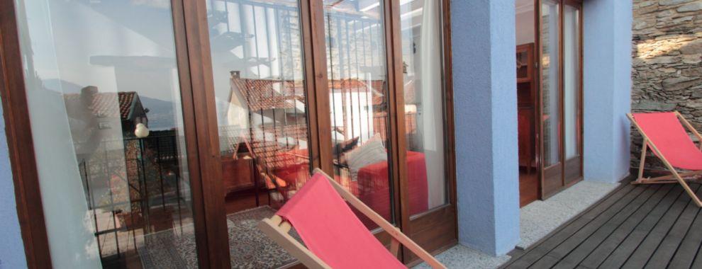 Oggebbio 3-Zimmer Maisonettewohnung mit teilweise wundersch�nen Ausblick auf den Lago Maggiore