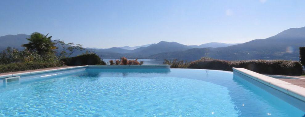 Haus in Oggebbio mit Pool und atemberaubenden Seeblick