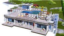 Residenza con piscina e vista sulle isole Borromee
