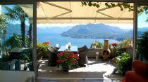 Lago Maggiore, nelle alture di Stresa attico di tre locali con terrazzo e vista lago.