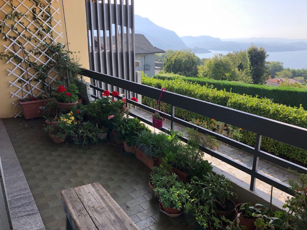 Arizzano appartamento tre locali vista lago