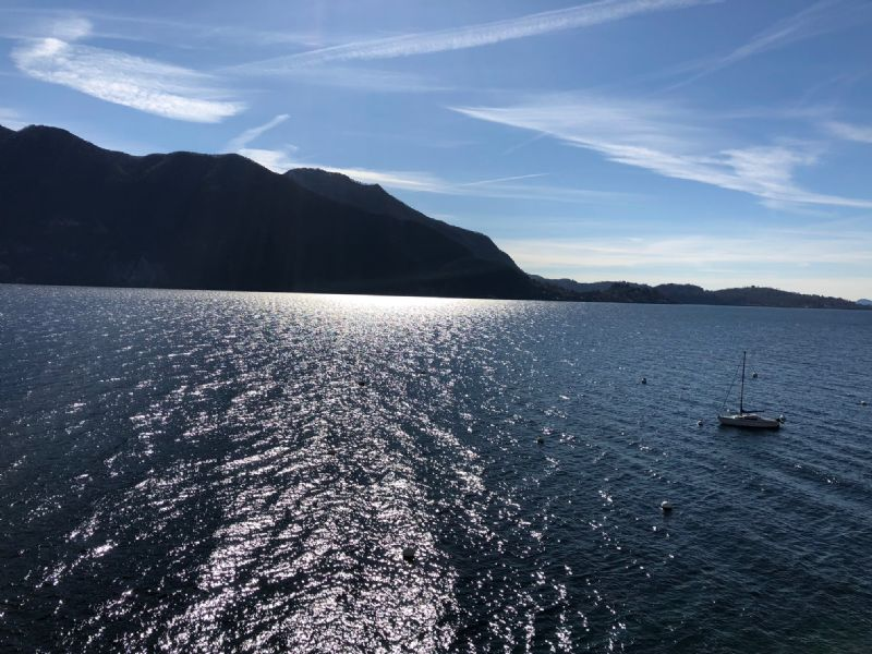 Appartamento bilocale vista lago a Ghifffa