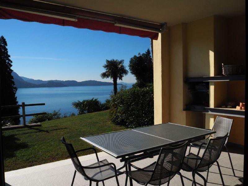 Zweizimmerwohnung mit Seeblick in Ghiffa Villa Ada