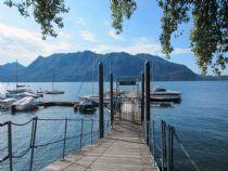 Ghiffa Villa Ada appartamento bilocale vista lago con giardino