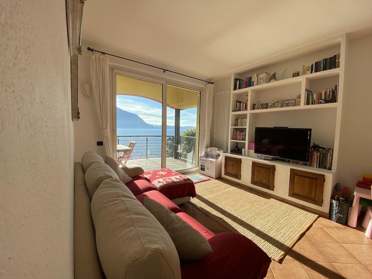 Ghiffa vendesi appartamento trilocale vista lago