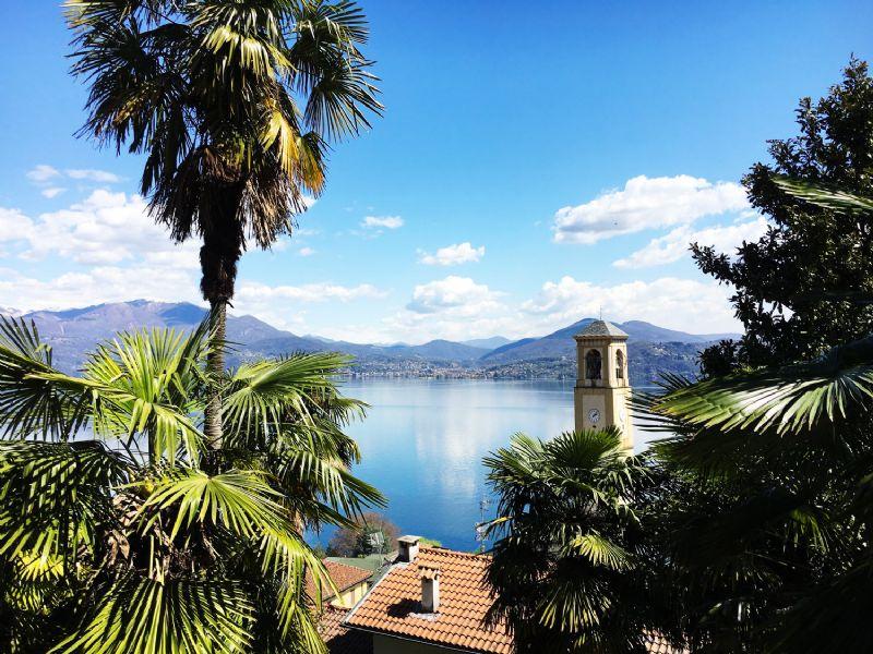 Appartamento in villa con bella vista lago