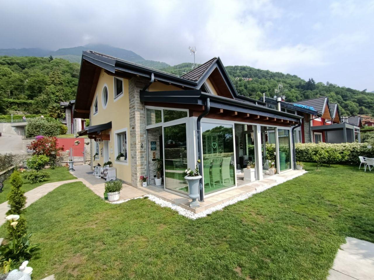 Cannero Riviera casa indipendente con giardino e vista lago