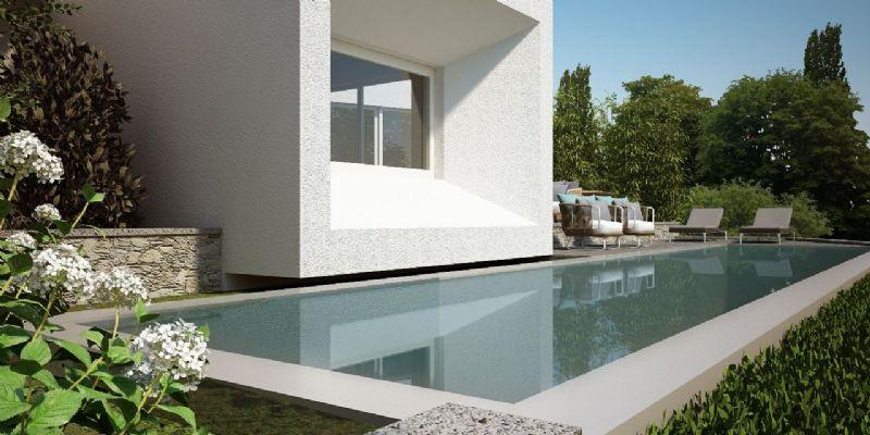 Villa di nuova costruzione vista lago