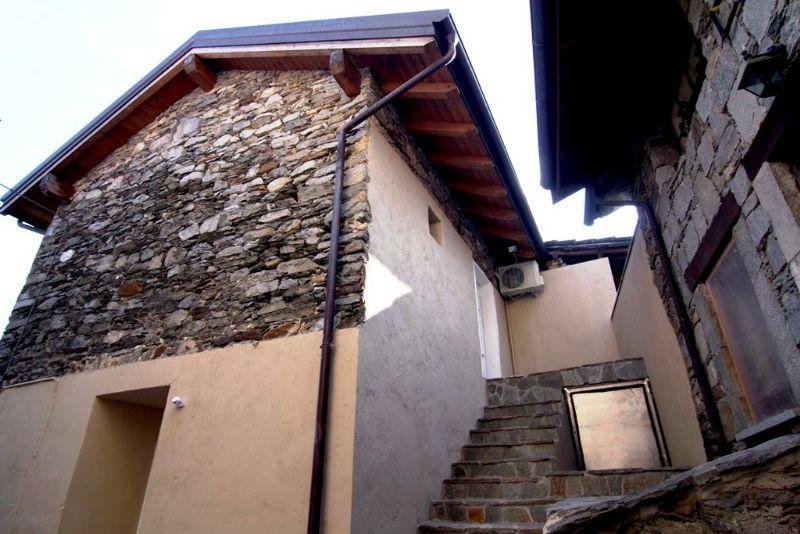 Casa semindipendente a Ghiffa parziale vista lago