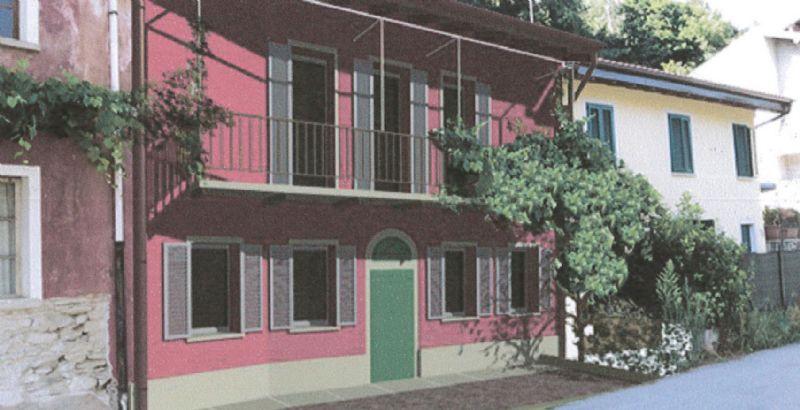 Casa semindipendente a Ghiffa da ristrutturare