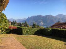 Ghiffa, villetta a schiera libera su 3 lati con garage e giardino e vista lago