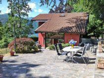 Lago d'Orta Chalet con ampio giardino e bella vista lago