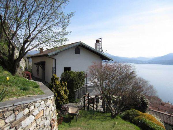 oggebbio casa indipendente con giardino e vista lago