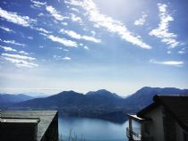 Splendida casa indipendente con vista lago e giardino a Pollino, Premeno