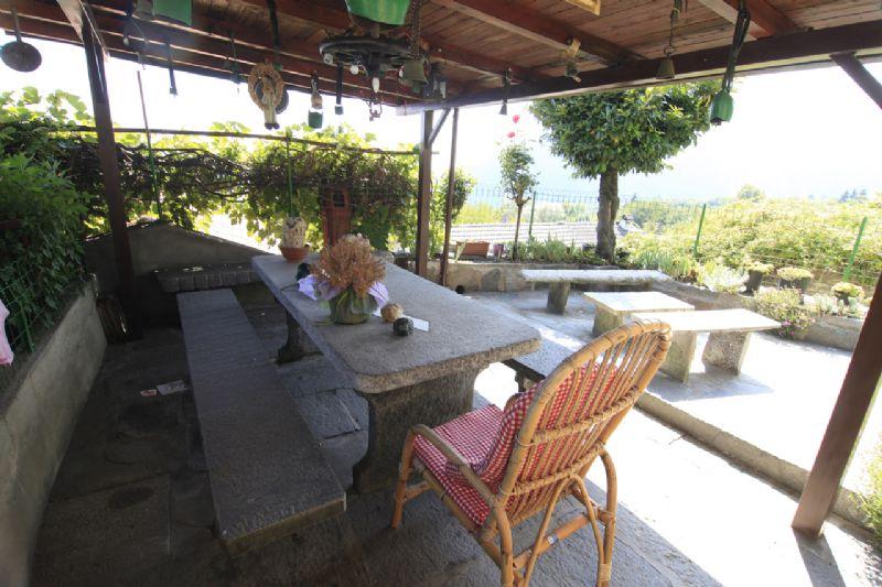 Casa d\'epoca a Trarego con giardino, terrazza e bella vista lago