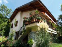 Vignone casa bifamiliare con giardino e vista lago.