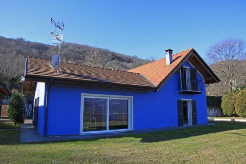 Baveno Freistehender Haus am See mit Panorama blick Garten Pool Garage